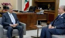 المشنوق من بعبدا: طمأنت الرئيس عون ان التحضيرات للانتخابات جدية