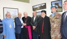 رئيس أساقفة قوات الدفاع الايطالية زار بلدية صور