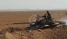 سانا: الجيش السوري يستهدف مجموعة مسلحة في ريف حماة