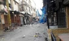 النشرة: القاء قنبلة يدوية في حي المنشية داخل مخيم عين الحلوة