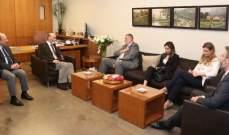 جعجع التقى وكيل الامين العام للامم المتحدة