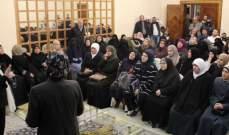 بهية الحريري التقت اهالي وعائلات موقوفي احداث عبرا
