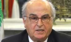 عصام سليمان: سأعيّن الجمعة المقبل قاضيا لدراسة الطعن في خطة الكهرباء