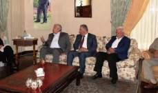 العالول وضع الحريري في أوضاع الساحة الفلسطينية وموقف القيادة من صفقة القرن
