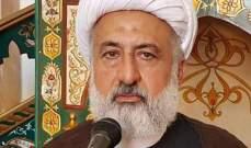 علي الخطيب عزى بالشاهرودي في إيران: كان مثالا للعالم المتفاني بتبليغ أحكام الدين