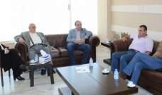 الحريري والسعودي تابعا الشأن الحياتي مع رؤساء المصالح المعنية بالخدمات الأساسية