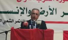 هاشم: نحن أصحاب المصلحة بالانفتاح على دمشق سواء من بوابة عملية إعادة الإعمار أو غيرها
