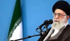 خامنئي: لا أرى أن دونالد ترامب يستحق رسالة من طهران