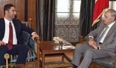 الغريب من عين التينة: بري أكد وجوب تحييد ملف النازحين السوريين عن السياسة