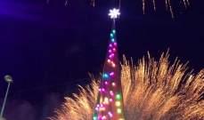 """""""تجمع إنماء لبنان"""" اضاء بإحتفال شجرة الميلاد في طرابلس"""