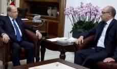 الرئيس عون استقبل سفير تونس في لبنان كريم بودالي