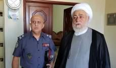 المفتي عسيران التقى العميد شمس الدين وبحث معه الأوضاع العامة
