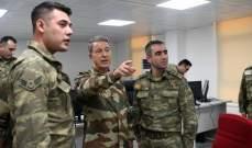 آكار:هدف عملية غصن الزيتون هو جلب الإستقرار وسنستمر حتى القضاء على الإرهابيين