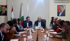 الحزب الديمقراطي اللبناني بحث في آلية مواكبة الاستحقاق الانتخابي اعلاميا