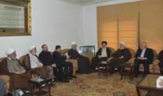 قبلان التقى رئيسي:  ايران مستهدفة من اعداء الامة