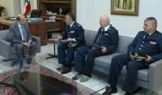 الرئيس عون استقبل وفدا من قيادة الجيش والحاج حسن والنائبين عمار وشري