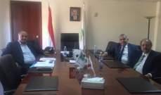 وزير البيئة عرض مع ديب ومخيبر للاعتراض على معمل النفايات في مشاع بيت مري
