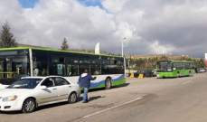 وصول 17 حافلة إلى معبر الدبوسية تقل مئات النازحين السوريين تمهيدا لنقلهم إلى قراهم