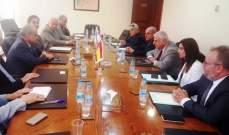 سفير إسبانيا زار الرابطة المارونية:لمدريد مصلحة في أمن لبنان واستقراره