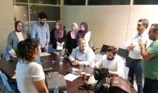 اجتماع في نقابة المهندسين في طرابلس بحث في مشروع الشاطئ العكاري