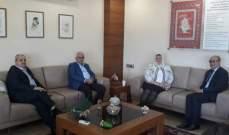 رئيسة الجامعة الإسلامية التقت سفير تونس لدى لبنان
