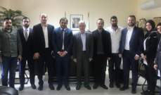 فنيش التقى رئيس بلدية كيفون ووفدين من المبرات ومكتب الشباب في أمل