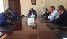 الخطيب الى القاهرة للمشاركة في مجلس وزراء البيئة العرب