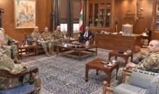 بري التقى قائد الجيش والسفير الايطالي ومنسق الأمم المتحدة في لبنان