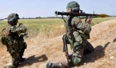 الجيش السوري فجر سيارة مفخخة قبل وصولها إلى حاجز عسكري في مدينة السخنة