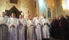 الكنيسة المارونية احتفت بالسيامة الشدياقية لعشرة طلاب من الإكليريكية  البطريركية