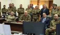 قائد الجيش تفقد غرفة عمليات القمة: الإجراءات الأمنية تثبت عزيمتنا على حفظ أمن المؤتمر