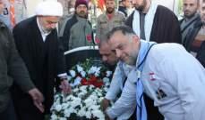 حركة امل وكشافة الرسالة في جبشيت تحيي ذكرى الشيخ راغب حرب