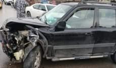 النشرة: سقوط جريحة بحادث سير على طريق نيحا أبلح