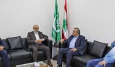 الجماعة الاسلامية تستقبل الهيئة الادارية الجديدة لصندوق الزكاة في صيدا