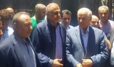 المقداد تفقد أضرار حريق سوق بعلبك:على المعنيين التعويض على أصحاب المحال