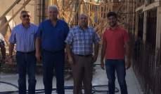 قمرالدين تفقد مشاريع بلدية طرابلس في الملعب البلدي