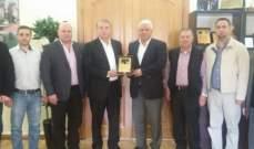 قمرالدين التقى المجلس الدانماركي ولجنة كأس ماتسوشيما الدولي في الكاراتيه