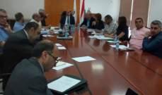 اللقيس ترأس اجتماعا تحضيريا لوضع رؤية جديدة للقطاع الزراعي في لبنان