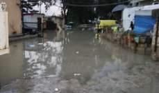 الدفاع المدني: سحب مياه من داخل عدد من المحلات التجارية في جل البحر بصور