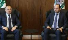 بو صعب بحث مع حسن مراد آخر المستجدات والمواضيع الراهنة على الساحة اللبنانية