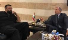 أحمد الحريري زار فرع مخابرات الجيش في الجنوب