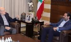 معلومات الـLBCI: لقاء جمع أمس الحريري وميقاتي الذي أكد عدم دخوله معركة الانتخابات بطرابلس