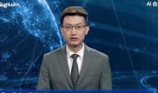 """""""شينخوا"""" قدمت أول روبوت يعمل كمذيع للأخبار"""