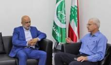 حمود التقى رئيس مجلس إدارة مستشفى صيدا الحكومي