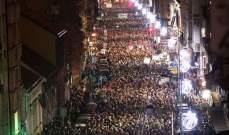 احتجاجات ضد سياسات الرئيس في صربيا