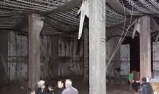 النشرة: إنهيار مبنى قيد الإنشاء في بلدة تول الجنوبية ونجاة العمال