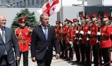 أكار يبحث مع مسؤولين في جورجيا العلاقات الثنائية بين البلدين