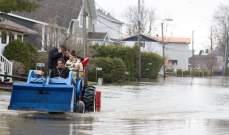 إعلان الطوارئ في أوتاوا إثر ارتفاع منسوب المياه بسبب الفيضانات