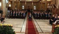وصول الرئيس عون لكاتدرائية مار جرجس المارونية للمشاركة بالقداس الإلهي لمناسبة مرور 125 سنة على تشييدها