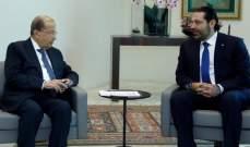مصادر الجديد: زيارة الحريري قصر بعبدا معلقة على إحداث خرق جديد بمسار المفاوضات الحكومية